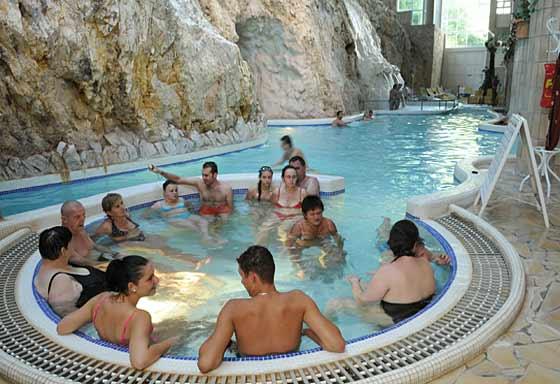 Höhlenbad in Miskolc Tapolca